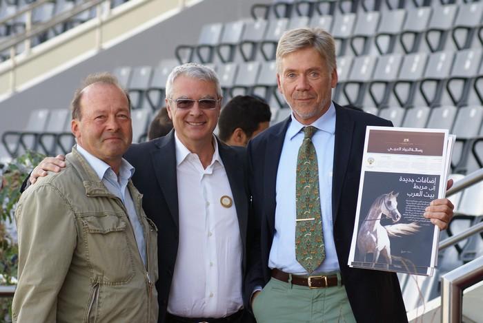 Erwin Escher (Niemcy), Fabio Brianzoni (Włochy) i Klaus Beste (Niemcy). Fot. Monika Luft