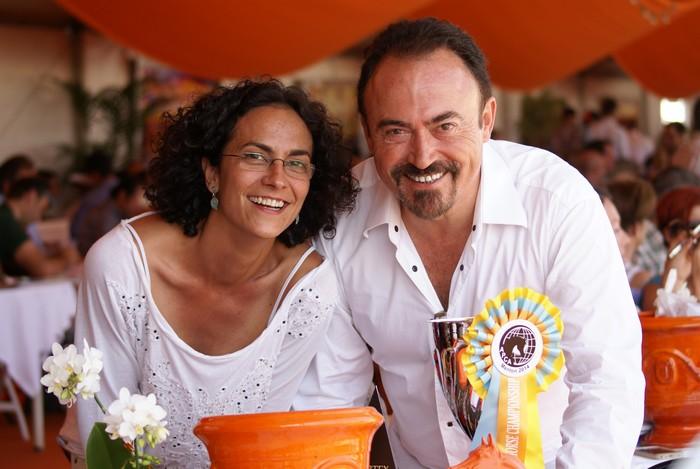 Albert Sorroca i Elena Gonzalez (Equus Arabians, Hiszpania), fot. Monika Luft