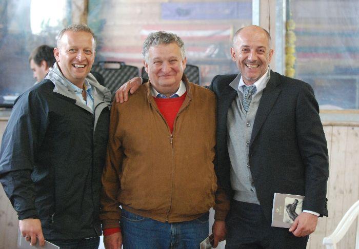 Scott Benjamin, Jerzy Białobok, Ferdinand Huemer, fot. Mateusz Jaworski