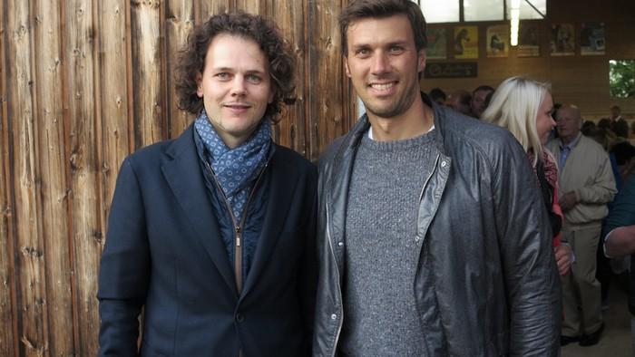 Elvis Giughera (Włochy, Arabian Essence) i Mario Matt (Austria), fot. Mateusz Jaworski