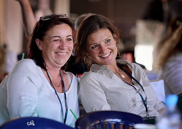 Małgorzata Pietrzak (Minnesota Arabians) i Maria Jodłowska (Athbah Stud), fot. Ewa Imielska-Hebda