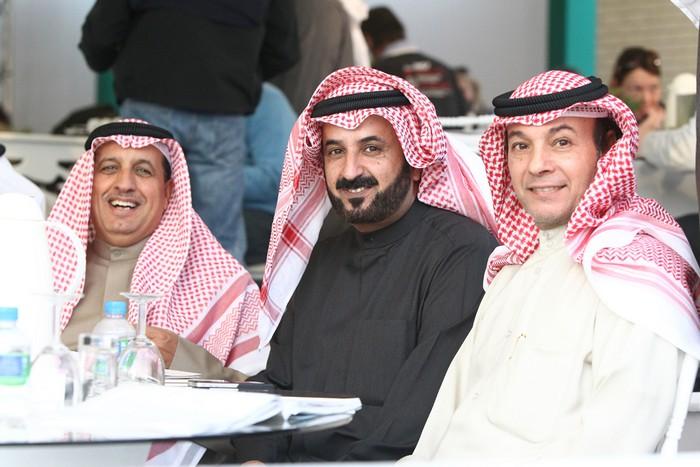 Mohammed Al-Meshal (Al-Meshal Arabian Stud), Saoud Al-Metrek i Mohammed Al-Mukhaizeem (Al Danat Stud), fot. Mateusz Jaworski