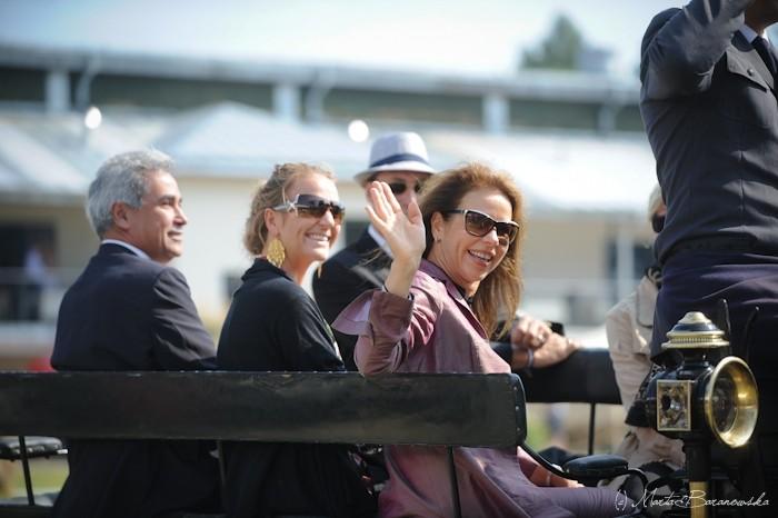 Renata Schibler (Szwajcaria) z córką Sandrą oraz Ali Shaarawi (Egipt), fot. Marta Baranowska