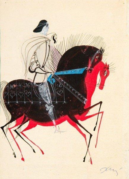 Iv i Finetta. Ilustracja Józefa Wilkonia (1962)
