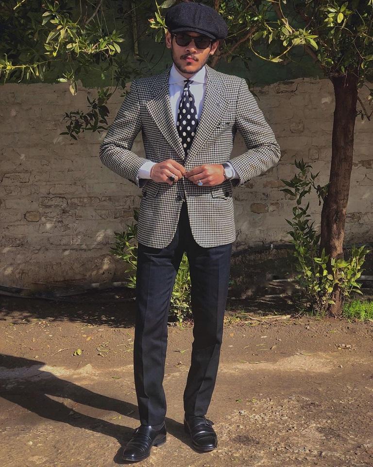 Blogger modowy Ali Al-Fahd z Iraku