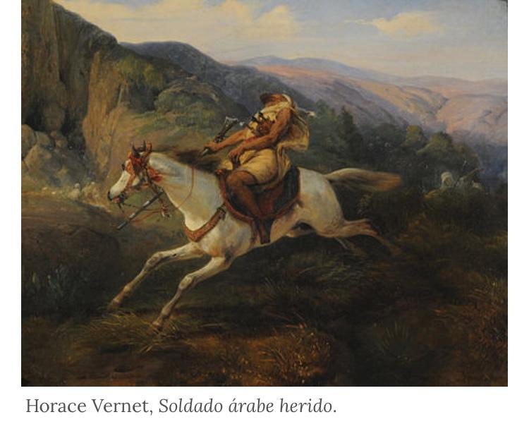 Ranny żołnierz arabski, Horace Vernet, fot. archiwum