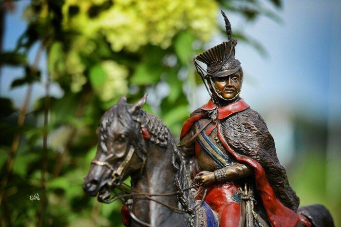 Statuetka przechodnia dla najlepszego konia pokazu narodowego w Janowie Podlaskim, fot. Ewa Imielska-Hebda