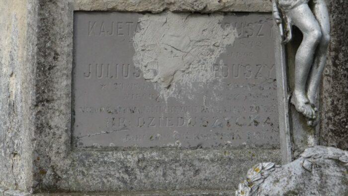 Grób Juliusza Dzieduszyckiego na cmentarzu w Jarczowcach, fot. Krzysztof Czarnota