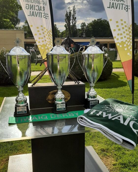 Cups in the Tiwaiq Central European Arabian Derby, photo archive