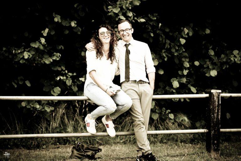 Elissa Grassi and Raphael Curti, by Henrike Hörmann