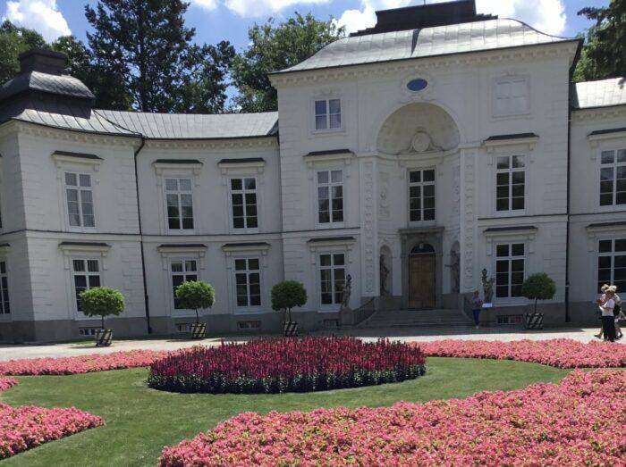 Pałac Myślewicki, Muzeum Łazienki Królewskie, fot. Hanna Sztuka