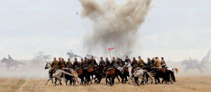 Jedna z wielu inscenizacji bitwy, fot. z archiwum Krzysztofa Czarnoty