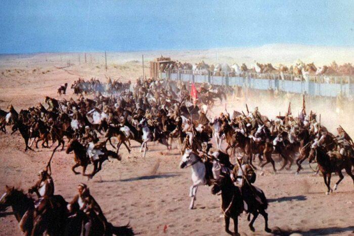 Kadr z filmu Lawrence z Arabii, fot. filmweb.pl