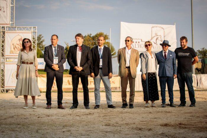 Sędziowie i DC na pokazie w Bergamo, fot. Paola Drera